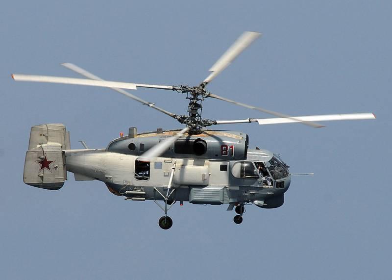 Серийные палубные вертолёты «Минога» появятся в России через 10 лет