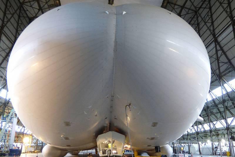Падение супердирижабля Airlander 10 (видео)