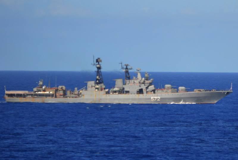 Блогер: российский флот возвращается к советской практике сдерживания противника