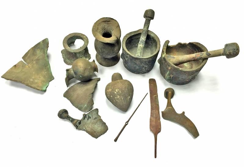 Израильские специалисты обнаружили в частной коллекции ручную гранату времён крестоносцев