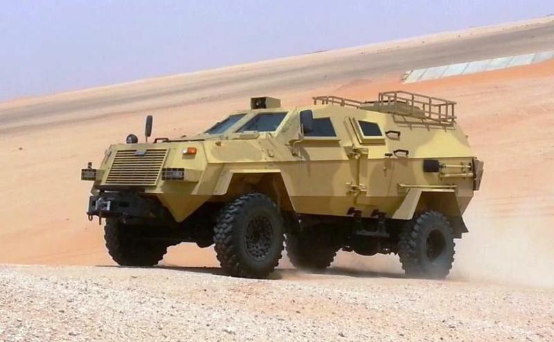 Грузинская бронемашина подвела саудитов в Йемене