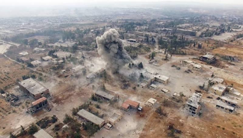 Дамаск: турецкие военные передали склады с оружием в Алеппо террористам