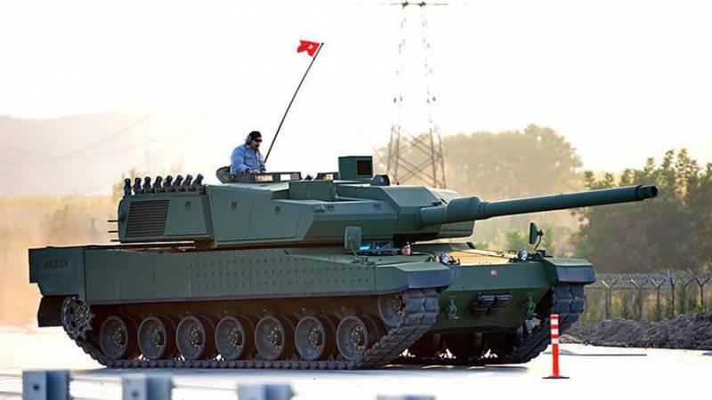 Турецкая компания намерена начать серийный выпуск танков Altay
