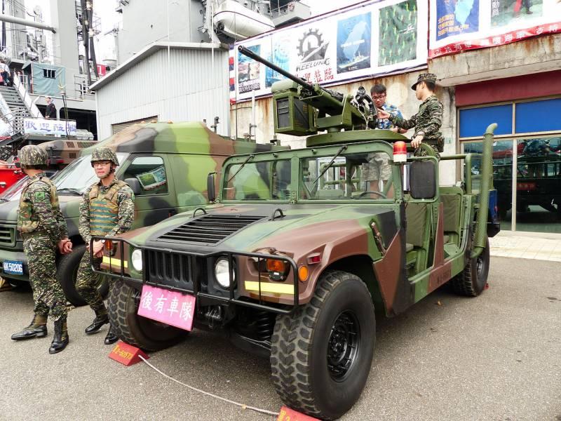 Проекты оснащения HMMWV малокалиберными пушками