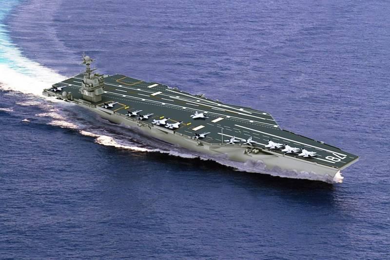 СМИ: бортовые системы новейшего американского авианосца признаны недееспособными