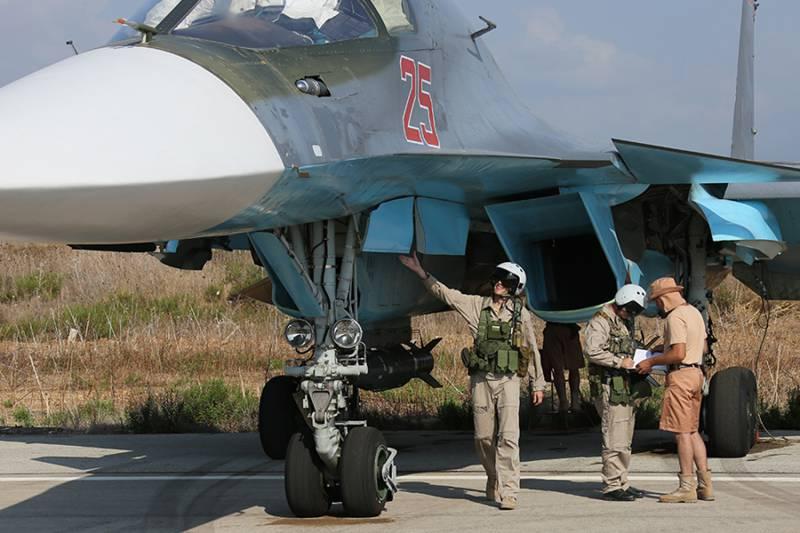 Российский Су-34 уничтожил одного из главарей ИГИЛ в Сирии