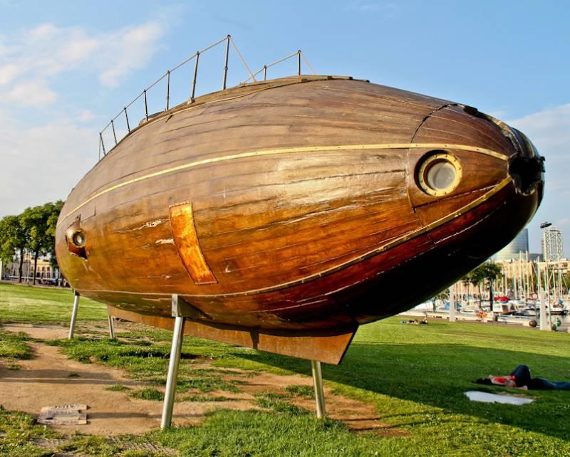 Подводные лодки Монтуриоля и Пераля