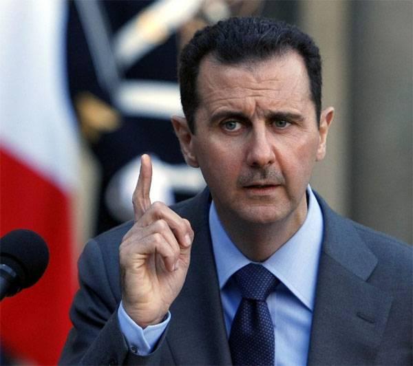 С позиции Асада...