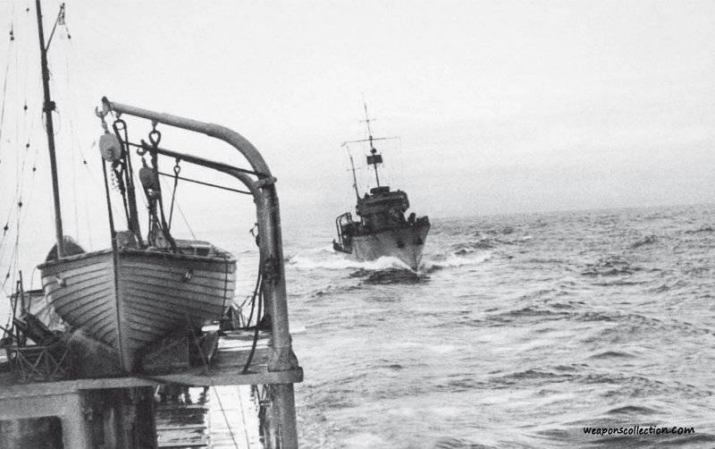 Боевое траление в первые послевоенные годы - суровое продолжение войны