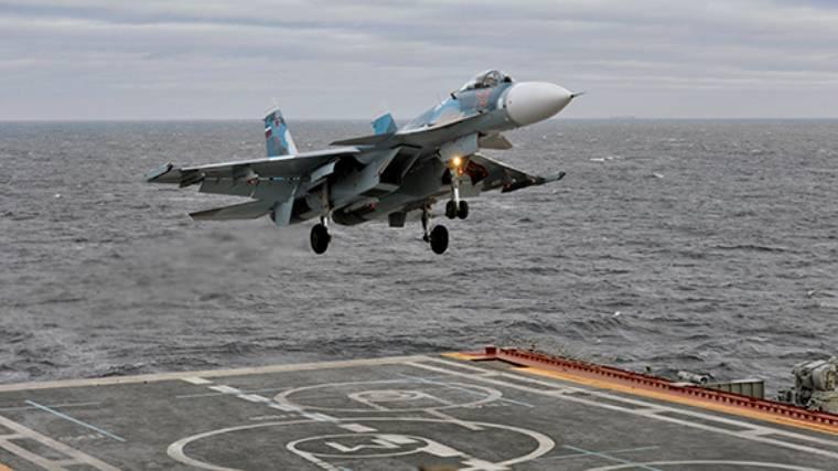 СМИ: российские Су-33 получат сверхточные прицельные системы