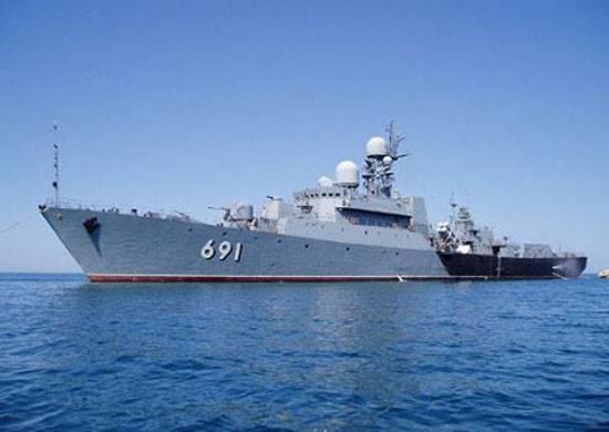 Корабли КФл в рамках похода зайдут в порты Казахстана и Ирана