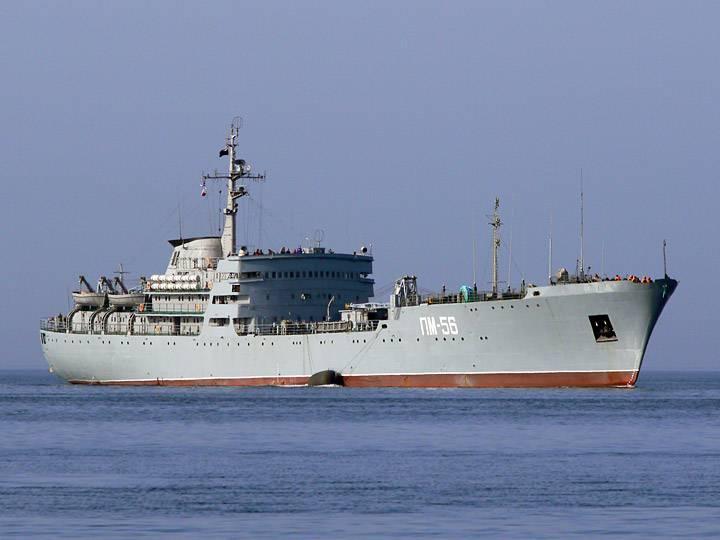 ПМ-56 прибыла в сирийский Тартус