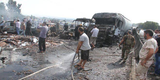 Кровавый понедельник в Сирии