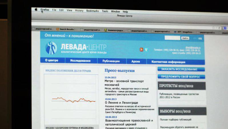 Косачев: включение «Левады-центр» в список иностранных агентов является решением, «адекватным интересам общества»