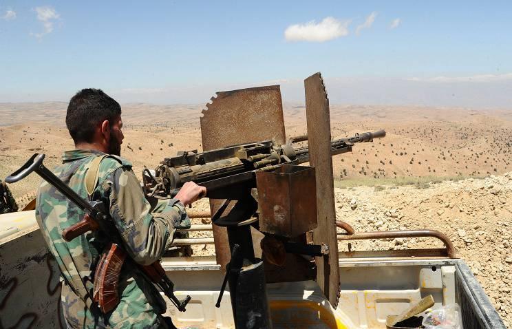 Сирийская армия сдерживает наступление радикальных группировок в районе города Хама