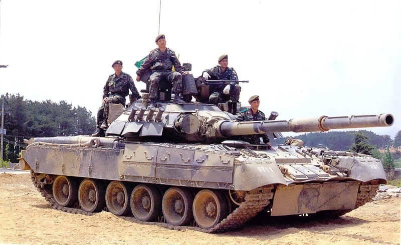 РФ планирует выкупить у Южной Кореи танки Т-80 и БМП-3