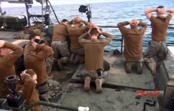 Иранские ВМС в Персидском заливе заставили американский корабль изменить курс