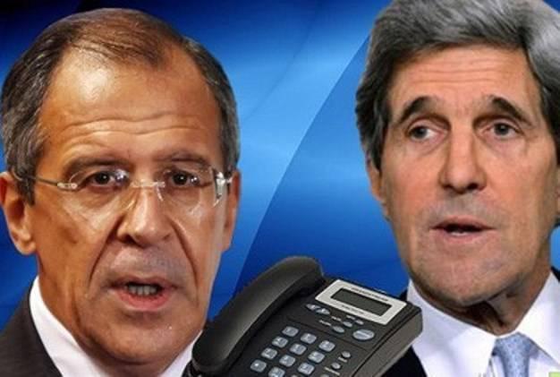 Лавров выразил Керри своё возмущение по поводу новых санкций США