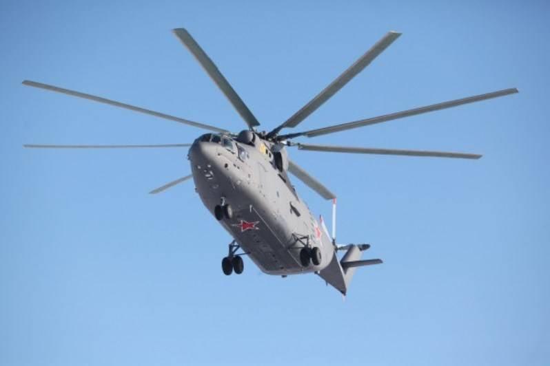 Ми-26Т2 модернизируются для нужд российских военных