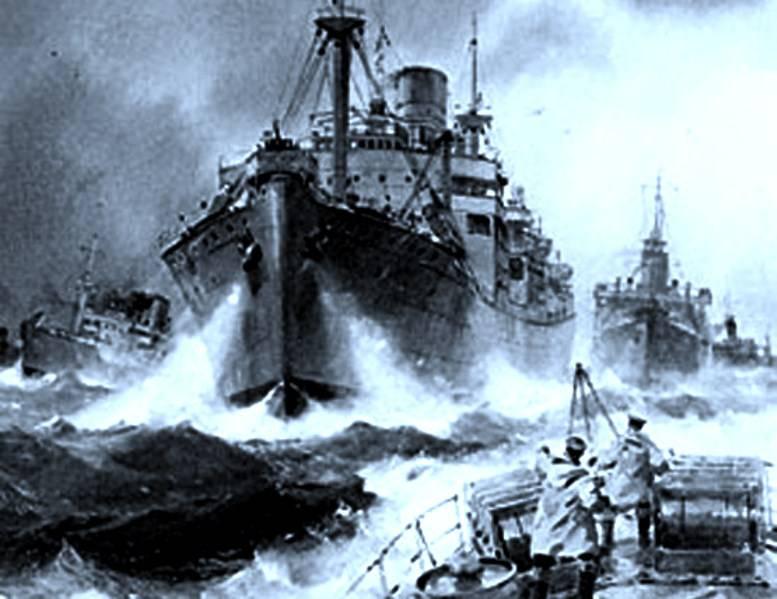 Боевая работа гидрографов Северного флота в годы Великой Отечественной войне