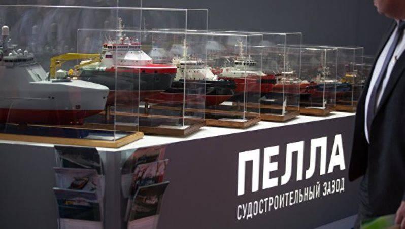 «Пелла» построит по заказу Минобороны новейшие суда обеспечения