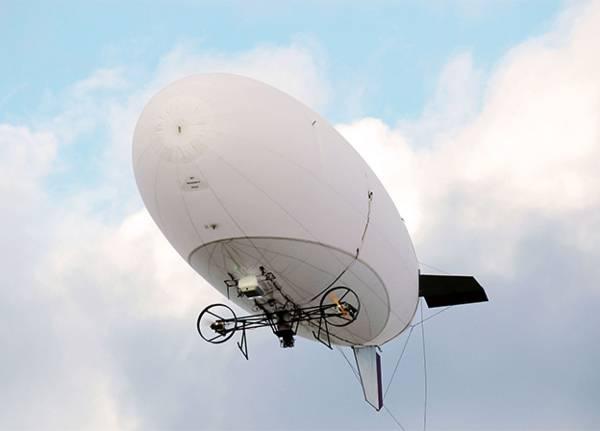 Испытания аэростатов-ретрансляторов с АФАР