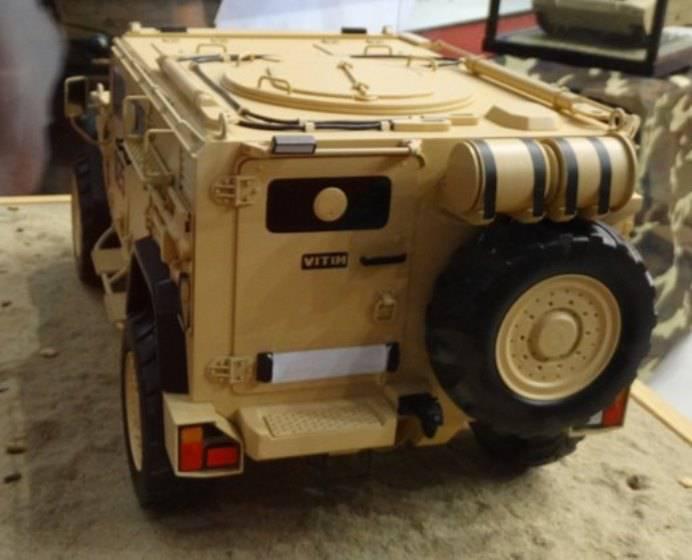 Плавающий бронированный автомобиль от компании «Минотор-Сервис»