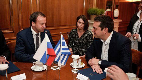 Афины: Греция поддержит проект газопровода на юг Европы из России