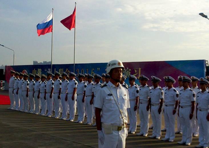 Совместное учение РФ и КНР стартовало в Южно-Китайском море