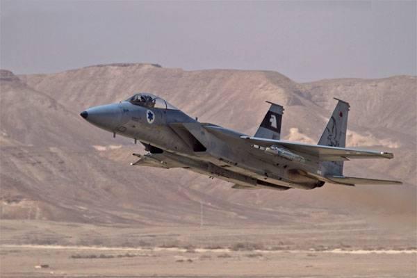 Дамаск сообщает о сбитом израильском истребителе