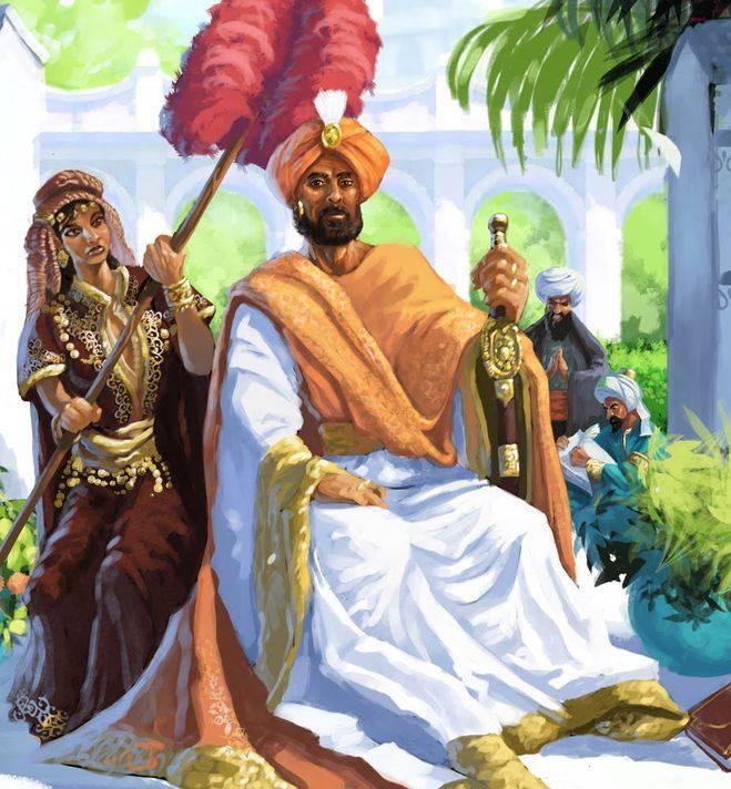 Халиф из сказок «Тысячи и одной ночи»