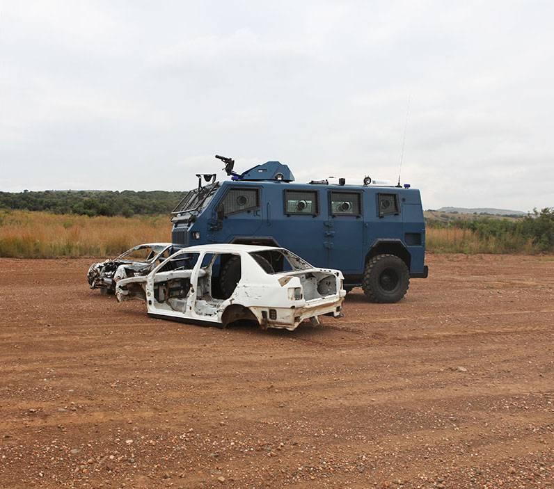 Бронеавтомобиль «Номад» (Казахстан / ЮАР)