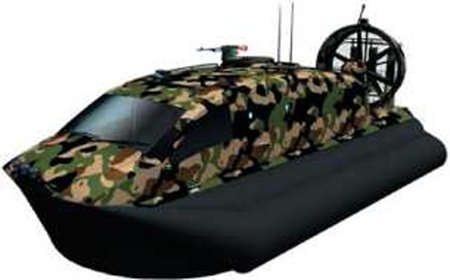 Проекты инженерных разведывательных катеров на воздушной подушке