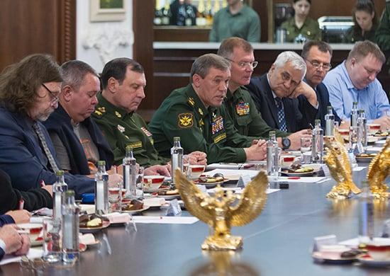Начальник Генерального штаба ВС РФ рассказал журналистам о предварительных итогах СКШУ «Кавказ-2016»