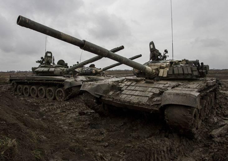 Более 40 танков Т-72Б3 поступило в общевойсковую армию ЮВО
