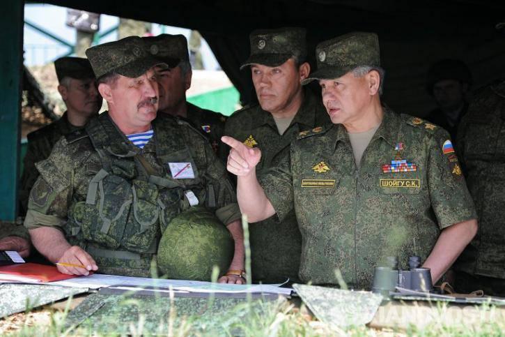 Герасимов: командование формируемой в ЮВО дивизии привлекалось к учению «Кавказ-2016»