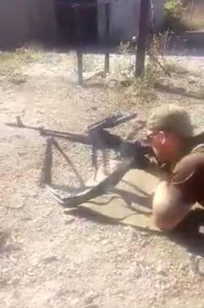 """Попробуй постреляй... ВСУ об украинских """"модернизированных"""" пулемётах"""
