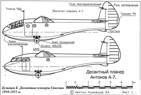 Gökyüzünden - savaşa! Sovyet havadan uçaklar А-7 ve Г-11