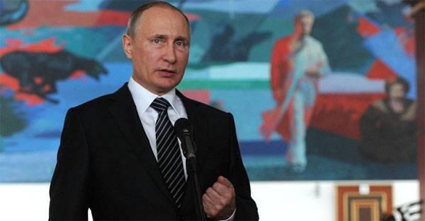 Владимир Путин надеется на честность США в рамках договорённостей по Сирии