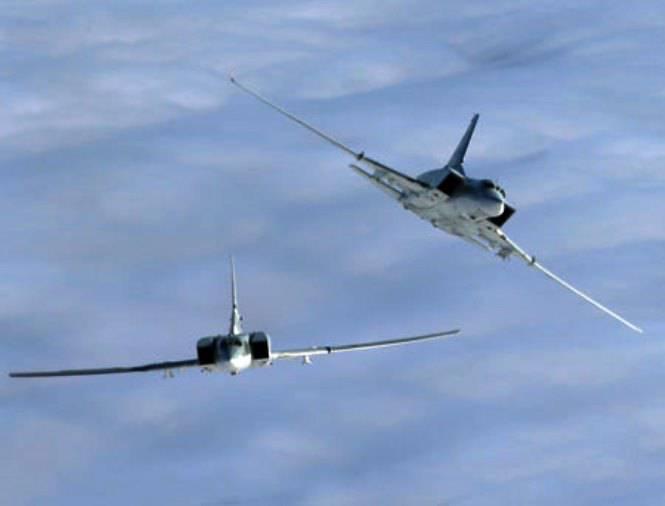 Пара бомбардировщиков Ту-22М3 перебазирована в Новосибирск для участия в учении стран-участниц ШОС