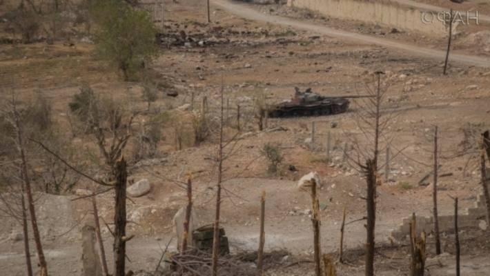 Видео поражения турецкого танка в Сирии