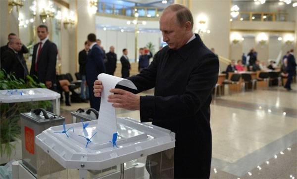 Владимир Путин: Итоги выборов - ответ граждан на попытки внешнего давления на Россию
