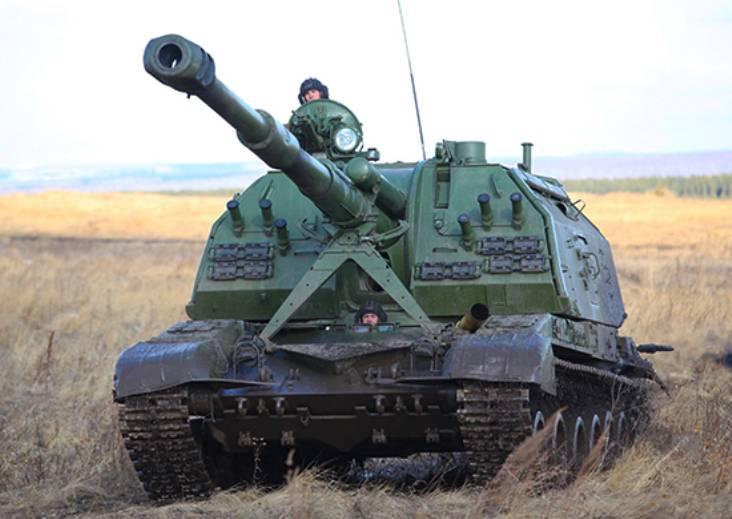 В мотострелковую бригаду ЦВО поступили новые гаубицы «Мста-С»