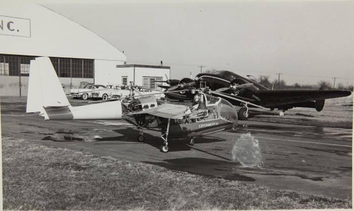 Transcendental Model 1-G: первый летательный аппарат с поворотными пропеллерами (конвертоплан)
