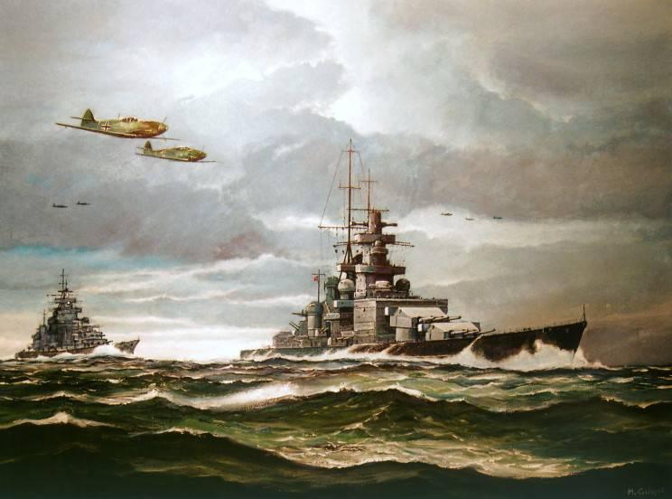 Морские крепости. В агонии боя