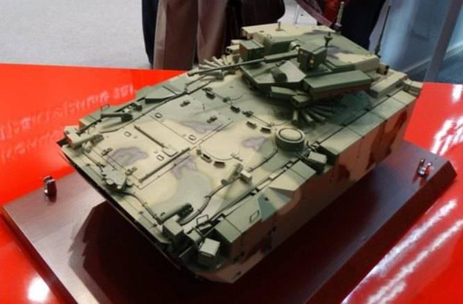 Обновлённый облик БМП Б-11 на базе платформы «Курганец-25»