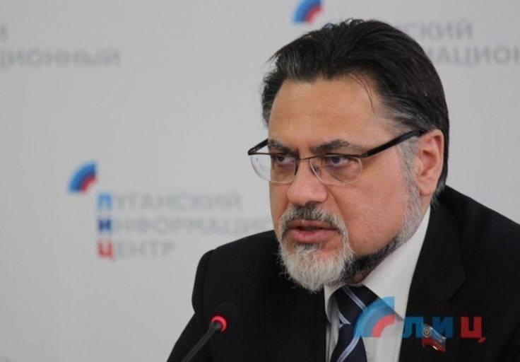 ЛНР: согласован текст соглашения о разведении противоборствующих сторон в Донбассе