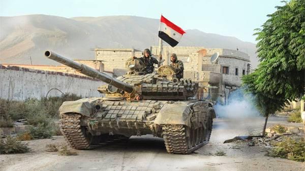 Сирийская армия ведёт наступление в Алеппо и в провинции Хомс