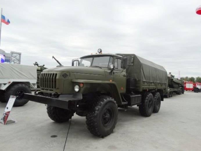 Автомобиль Урал-4320-31 для работы в арктических условиях