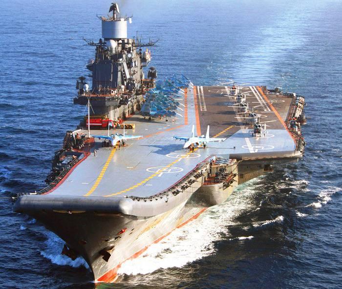«Адмирал Кузнецов» отправится в Средиземное море со штатным авиакрылом